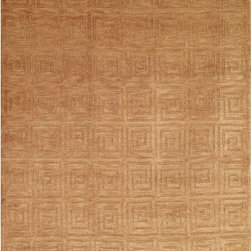 """Safavieh - Tibetan Greek Key Camel Rug - Safavieh's High Touch Tibetan Weave brings an ancient weave and fine materials to the present sensibilities of today's interior design. Simple geometric patterns, almost hidden within the weave, with muted accents, soft shades and neutral earth tones, are the main visual characteristics of this series. Features: -Construction: Handmade. -Technique: Tibetan weave. -Material: 100% Wool. -Collection: Tibetan. -Style: Contemporary Recommended Care: -Vacuum regularly. Brushless attachment is recommended. -Avoid direct and continuous exposure to sunlight. -Do not pull loose ends; clip them with scissors to remove. -Remove spills immediately; blot with clean cloth by pressing firmly around the spill to absorb as much as possible. For hard-to-remove stains professional rug cleaning is recommended. Specifications: -Overall Dimensions: 60-168"""" Height x 30-120"""" Width About Safavieh: Safavieh is a leading manufacturer and importer of fine rugs. Established in 1914 in the capital of Persian weaving masters, the company today brings three generations of knowledge and experience to its award-winning collections. In the United States since 1978, Safavieh has been a pioneer in the creation of high quality hand-made rugs, a trend that revolutionized the rug business in America. Its collections range from the finest antique and historical reproductions to the most fashion-forward contemporary and designer rugs."""