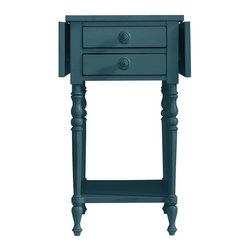 Stanley Furniture - Coastal Living Retreat-Chesapeake Table - With wings open wide or at its side, this versatile side table knows how to fly.