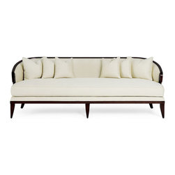 Christopher Guy 60-0190 Sofa - One of my clients has an amazing vintage sofa very similar to this one. I'm reupholstering it to save some money. It's always a smart idea to reupholster your existing furniture if it's well built and has an interesting frame.