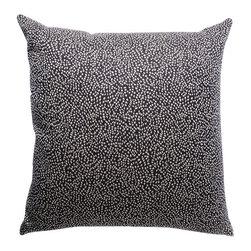 Waggo - Speck-Tacular Throw Pillow - This decorative throw pillow is surely a speck-tacular pillow!