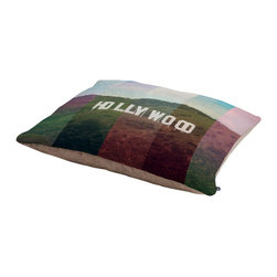 Catherine McDonald Hollywood California Dog Bed - Perfect for dogs, cats,heck, even a pig! With our cozy pet bed made of a fleece top and waterproof duck bottom, you're bound to have one happy animal catching some zzzz's in ultimate comfort.