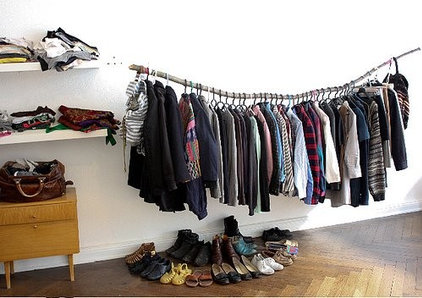 eclectic  branch clothing rack