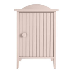 Island Bedside Cabinet - Any of our Bedside Cabinets make for irresistible companions to our beds. The Island Bedside Cabinet is outfitted with a coastal beadboard door to hideaway books, magazines or an extra throw. Available in one of 50 Maine Cottage® colors.