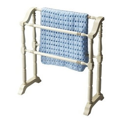 Butler Specialty - Butler Specialty Blanket Rack -5020222 - Butler products are highly detailed and meticulously finished by some of the best craftsmen in the business.