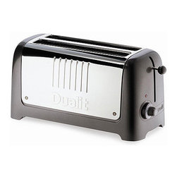 Dualit Lite 4 Slice Toaster - This toaster is state of the art and sleek, making it one that you'll never want to hide underneath the counter.