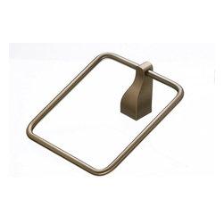Top Knobs - Bath Ring - Brushed Bronze (TKAQ5BB) - Aqua Bath Ring - Brushed Bronze
