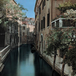 Magic Murals - Picturesque Venice Canals Wallpaper Wall Mural - Self-Adhesive - Multiple Sizes - Picturesque Venice Canals Wall Mural