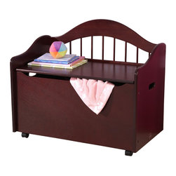 Kidkraft - KidKraft Limited Edition Toy Chest/Box in Cherry - Kidkraft - Toy Boxes and Chests - 14131 - Our Limited Edition Toy Chest keeps rooms tidy with style. This chest would be a great addition to any kid's room.