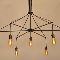 contemporary chandeliers by Jon Sarriugarte / Form & Reform