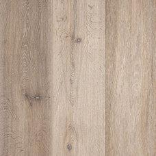Contemporary Hardwood Flooring by Warren Christopher Fine Floor Coverings