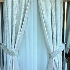 Eclectic Curtains by Heritage Window Treatments