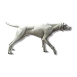 Orlandi Statuary - Poised Pointer Garden Statue Multicolor - F3319POINTER - Shop for Statues and Sculptures from Hayneedle.com! Mans best friend is displayed in lifelike detail in this charming Poised Pointer Garden Statue. This piece is cast in a hand-poured fiberglass resin and is highlighted with a weather-resistant finish designed to enhance the statues natural appeal. It's carefully designed to make a realistic impression from the shiny nose to the outstretched tail.About Orlandi StatuaryBorn in 1911 when Egisto Orlandi traveled from Lucca Italy to Chicago Illinois Orlandi Statuary quickly set the standard for excellence in their industry. Egisto took great pride in his craft and reputation and which is why artists interior designers and museums relied upon the careful details and impeccable quality he demanded. Over the years they've evolved into a company supplying more than statuary. Orlandi's many collections today include fiber stone for the garden religious statuary fountains columns and pedestals. Their factory and showroom are still proudly located in Chicago where after 100 years they remain an industry icon.