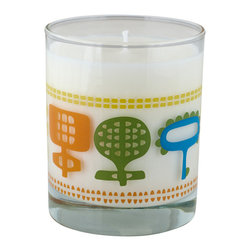 Crash - Happiland Fragranced With Valencia Orange Candle - Modern design and fragrance in a timeless product. Experience functional art in your home, exclusively from Crash. This candle is fragranced with Valencia Orange.