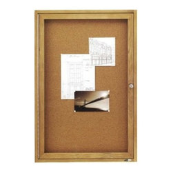 Quartet Enclosed Cork Bulletin Board for Indoor Use - 36 x 24 in. - About QuartetQuartet knows that you just have to write it down or you'll forget. They've been in the whiteboard, bulletin board, and chalkboard business since 1945 and have perfected the art of the perfect surface. Today, they boast a full line of visual communication products used at home, in the office, in hospitals, and in schools across the country. When you're looking for a product to help you communicate, you're looking for Quartet.