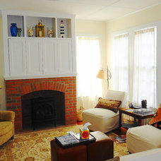 Traditional Living Room by Boardwalk Builders