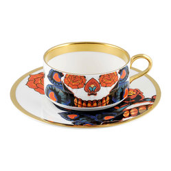 The New English Inkhead Teacup and Saucer