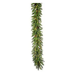 14 in. x 9 ft. Cheyenne Pine Pre-lit Garland with Cones - About VickermanThis product is proudly made by Vickerman a leader in high quality holiday decor. Founded in 1940 the Vickerman Company has established itself as an innovative company dedicated to exceeding the expectations of their customers. With a wide variety of remarkably realistic looking foliage greenery and beautiful trees Vickerman is a name you can trust for helping you create beloved holiday memories year after year.