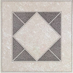 "NATIONAL BRAND ALTERNATIVE - 12"" X 12"" FLOOR TILE #4171A - No Wax 