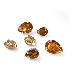 """Pretty Little Things - Glam Gem Pushpins Set of 6 - Bling up your boards with these """"Glam Gem"""" Pushpins!"""