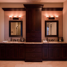 Asian Bathroom by Laura Potter Designs