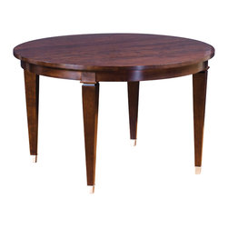 Stickley Round Dining Table 7686-2LVS -