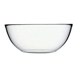Hospitality Glass - 3.5H x 8.5T x 4B Invitation Large Bowl 16 Ct - Invitation Large Bowl