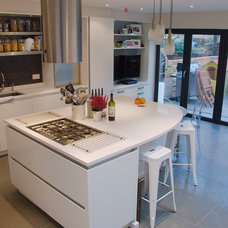 Contemporary Kitchen Islands And Kitchen Carts by Greengage Interiors Limited