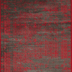 Momeni - Momeni Vogue VG-03 (Red) 8' x 11' Rug - This Machine Made rug would make a great addition to any room in the house. The plush feel and durability of this rug will make it a must for your home. Free Shipping - Quick Delivery - Satisfaction Guaranteed