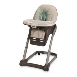 Graco - Graco Blossom 4- in -1 High Chair Seating Cushion System in Winslet - This 4-in-1 modular seating system is designed to adjust to your growing child's seating needs and to accommodate more than one child in your family.