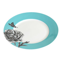 Simply Sofie - Butterflies Birch Pedestal Plate - This nature-inspired platter is the perfect addition to our party-time table decor.