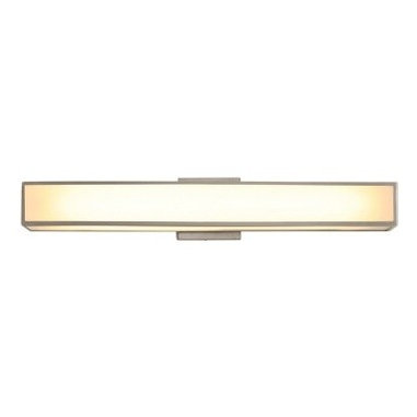 Garbo 25 by Edge Lighting | Bathroom Sconce - I love this over vanity lighting, so sleek and contemporary. I would use this in a very contemporary feeling bath with its clean lines and feel.