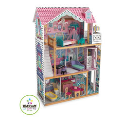KidKraft - Annabelle Dollhouse by Kidkraft - With our Annabelle Dollhouse, playtime will never be dull! From the molded latticework to the chandelier hanging from the ceiling, this dollhouse is full of gorgeous details sure to put a smile on any young girl's face.