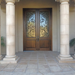 Entry Doors - Tungsten Royce