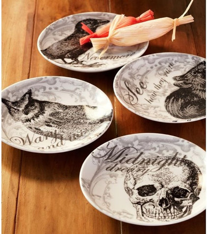 Eclectic Dinner Plates by Pottery Barn