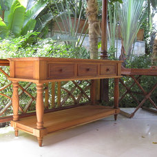 Tropical Patio Furniture And Outdoor Furniture by Island Furniture Ltd.