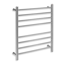 Myson Wall 8-Bar Towel Warmer, Bright Pearl - I've been using towel warmers for a while now, and there is a good reason for it. They warm towels and reduce moisture and mildew.