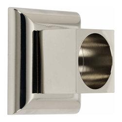 Alno Inc. - Alno Manhattan Shower Rod Brackets Satin Nickel - Alno Manhattan Shower Rod Brackets Satin Nickel