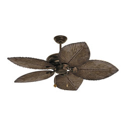 Emerson Fans - Emerson Fans TB344DBZ Bahama Breezes Distressed Bronze Ceiling Fan - Emerson TB344DBZ Bahama Breezes Ceiling Fan. Blades Sold Separately.