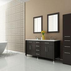 Modern Bathroom Vanities And Sink Consoles by BathGems