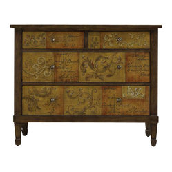 Scroll and Script Drawer Chest