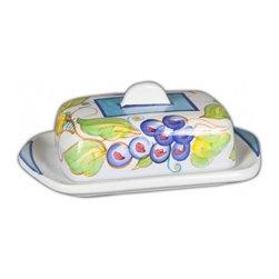 Ceramic - Bellarte Uva Butter Dish - Bellarte Uva Butter Dish