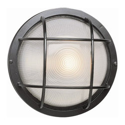 Transglobe - Trans Globe 1-lt Outdoor Wall Sconce - Marine windows in Trans Globes standard collection of bulkhead lighting.