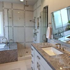 Modern Bathroom by SH interiors