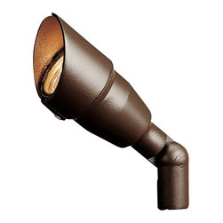 Kichler - Kichler No Family Association Outdoor Landscape Lighting Fixture in Red - Shown in picture: Accent 1-Lt 12V w/ Bulb in Textured Architectural Bronze