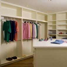 Contemporary Closet by OBM International
