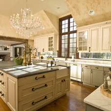 Traditional Kitchen by Kellie Burke Interiors
