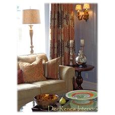 Living Room by DecRenew Interiors