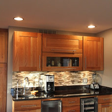Modern Kitchen by Paulson's Construction, Inc