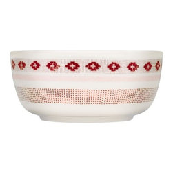 iittala Sarjaton Bowl 23 oz Tiki Red - In a modern interpretation of Finnish traditions, Iittala features Sarjaton as a completely new way of thinking about tableware. The soft shapes and rich visuals of this exciting collection allow numerous combinations for contemporary dining. Sarjaton, meaning &without series& in Finnish is a range that redefines the freedom of flexibility. The essential parts can be used whenever for whatever and play just as well together as by themselves. Touch the embossed plates and enjoy the soft, muted tones of the palette. Shaped by tradition, tailored for today, Sarjaton gives you the natural tools to create as you like.