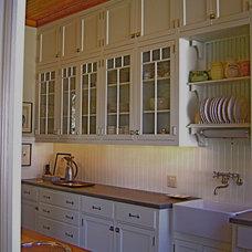 Eclectic Kitchen by Elizabeth Hagins Interior Design
